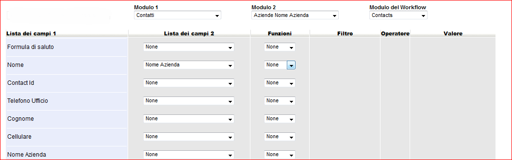 Interaction Between Related Modules The Workflow Creator